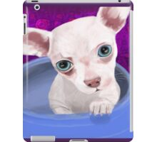 Digitally Painted Chihuahua Puppy in a Jar iPad Case/Skin
