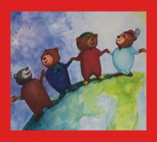 The Berlin Bears of Friendship Kids Clothes