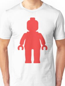 Minifig [Large Red] Unisex T-Shirt