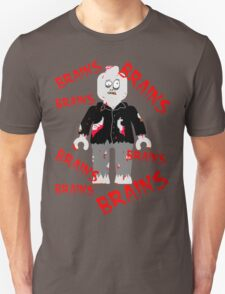 A LOT OF BRAINS - ZOMBIE MINIFIG T-Shirt