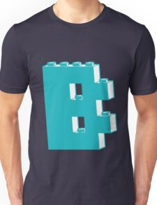 THE LETTER B, by Customize My Minifig Unisex T-Shirt