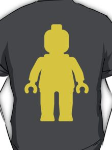 Minifig [Large Yellow] T-Shirt