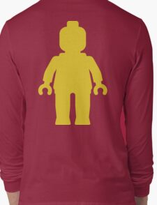 Minifig [Large Yellow] Long Sleeve T-Shirt