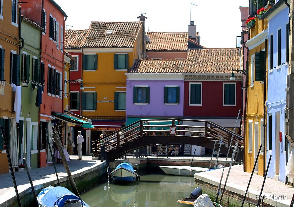 The colors of Venice by Bob Martin