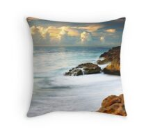 Time and Water Throw Pillow