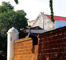 The Ancient Cannon - Melaka, Malaysia.  by Tiffany Lenoir
