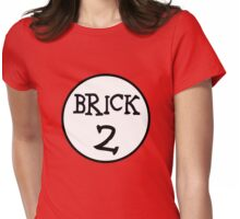 BRICK 2 Womens Fitted T-Shirt