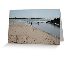Hathead Beach, Mid-North Coast, NSW.  Greeting Card