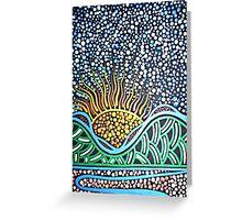 Thungutti Mountain Dreaming Greeting Card