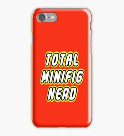 TOTAL MINIFIG NERD iPhone Case/Skin