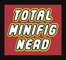 TOTAL MINIFIG NERD Kids Clothes