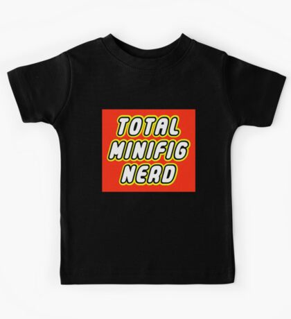 TOTAL MINIFIG NERD Kids Tee