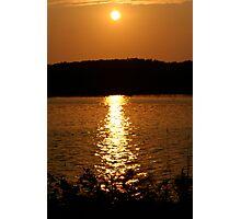 Long Lake Sunset 1 Photographic Print