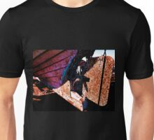 Old rust boat restoration Unisex T-Shirt