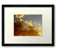 Tucson Sunset Framed Print