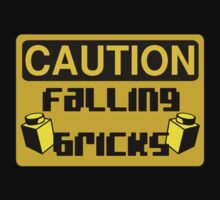 Caution Falling Bricks by ChilleeW
