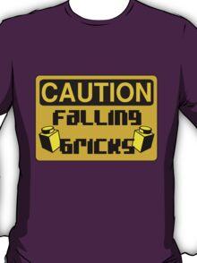 Caution Falling Bricks T-Shirt