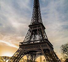 Eiffel Tower Sunset  by WillJohnston
