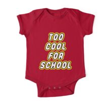 TOO COOL FOR SCHOOL  One Piece - Short Sleeve
