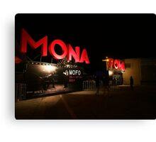 MONA FOMA 2014 2 Canvas Print