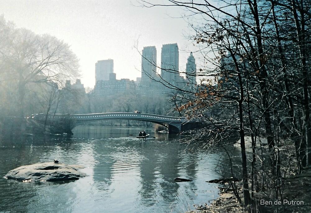 Rowing in Central Park by Ben de Putron