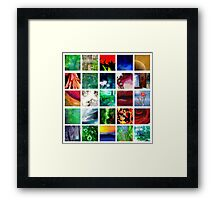 Blocks of Color Framed Print