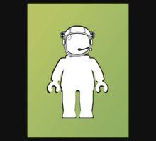 Banksy Style Astronaut Minifig  Customize My Minifig Kids Tee