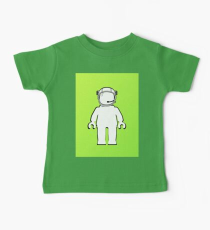 Banksy Style Astronaut Minifig  Customize My Minifig Baby Tee