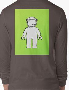 Banksy Style Astronaut Minifig  Customize My Minifig Long Sleeve T-Shirt