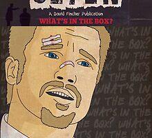 Se7en Comic Style Poster by Shaun Baker