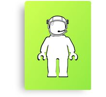 Banksy Style Astronaut Minifig  Customize My Minifig Canvas Print