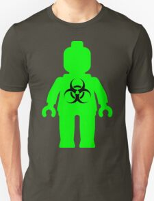 Minifig with Radioactive Symbol Unisex T-Shirt