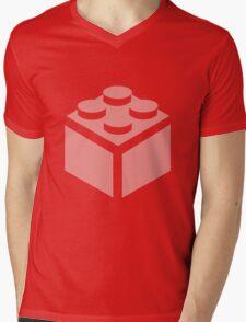 2 X 2 BRICK Mens V-Neck T-Shirt