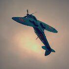 Reconnaissance Spitfire PL965R MkXI by Nigel Bangert