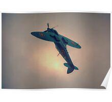 Reconnaissance Spitfire PL965R MkXI Poster