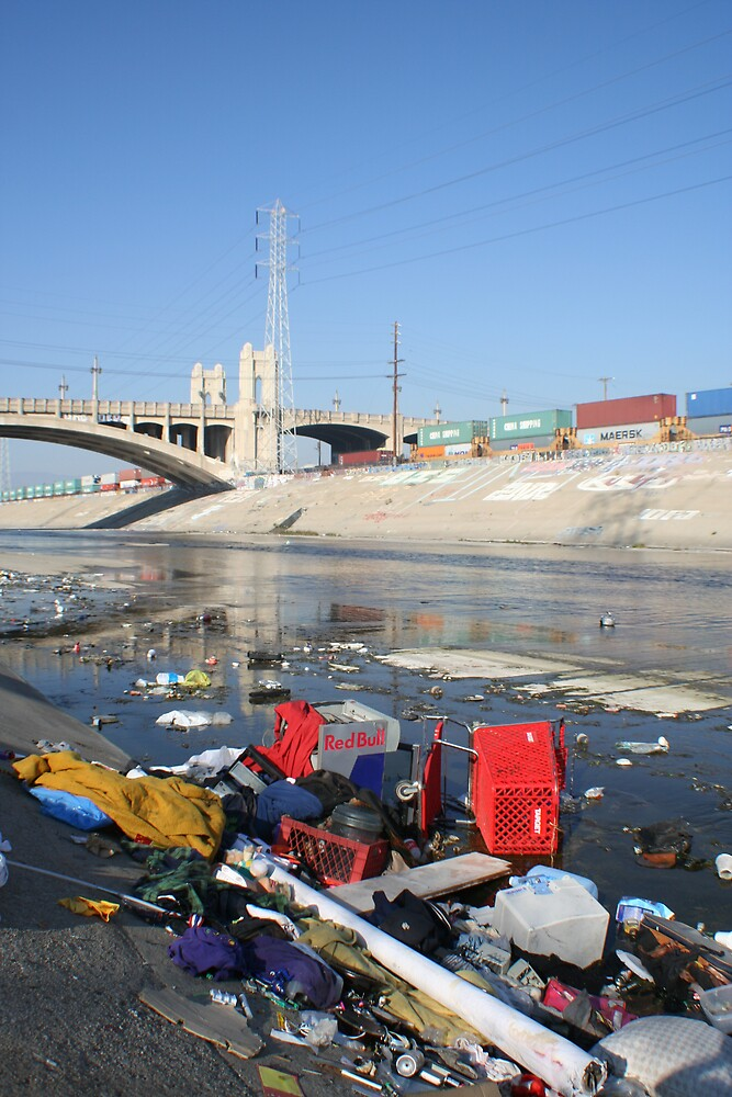 The LA River 1 by AngelaHR