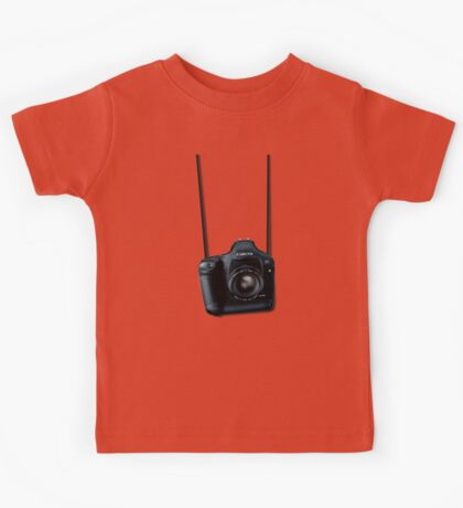 Camera shirt - for Canon users Kids Tee
