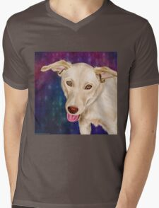 Beautiful Golden with a Strawberry Like Nose Mens V-Neck T-Shirt