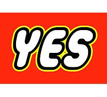 YES  Photographic Print
