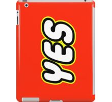 YES  iPad Case/Skin