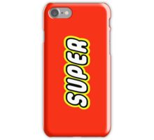 SUPER iPhone Case/Skin