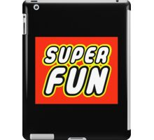 SUPER FUN iPad Case/Skin