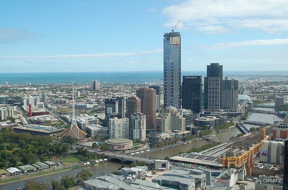 Melbourne City by cesarz