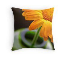Flower in Vase II Throw Pillow