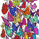 Butterflies by Octavio Velazquez