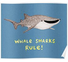 Whale Sharks Rule! Poster