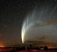 Comet McNaught by Hugh Mitton