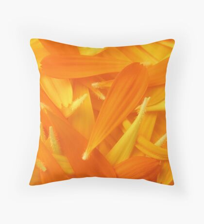 Pulled Pedals Throw Pillow