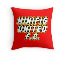 MINIFIG UNITED FC, Customize My Minifig Throw Pillow