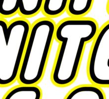 MINIFIG UNITED FC, Customize My Minifig Sticker